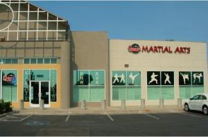 Quans Karate Store Front Signage
